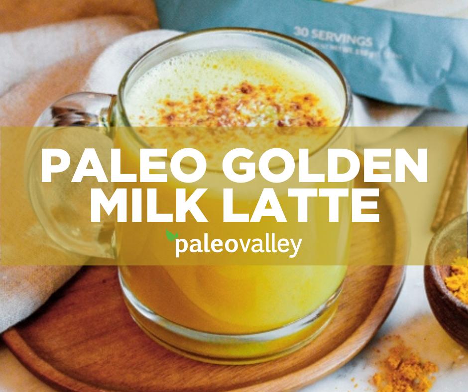 Paleo Golden Milk Latte Recipe